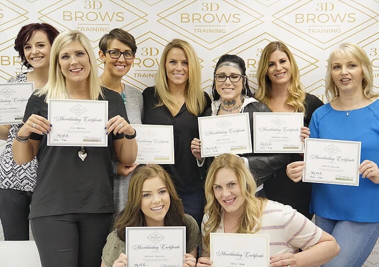 Microblading Training Course Certification - 3D BROWS ACADEMY, Utah