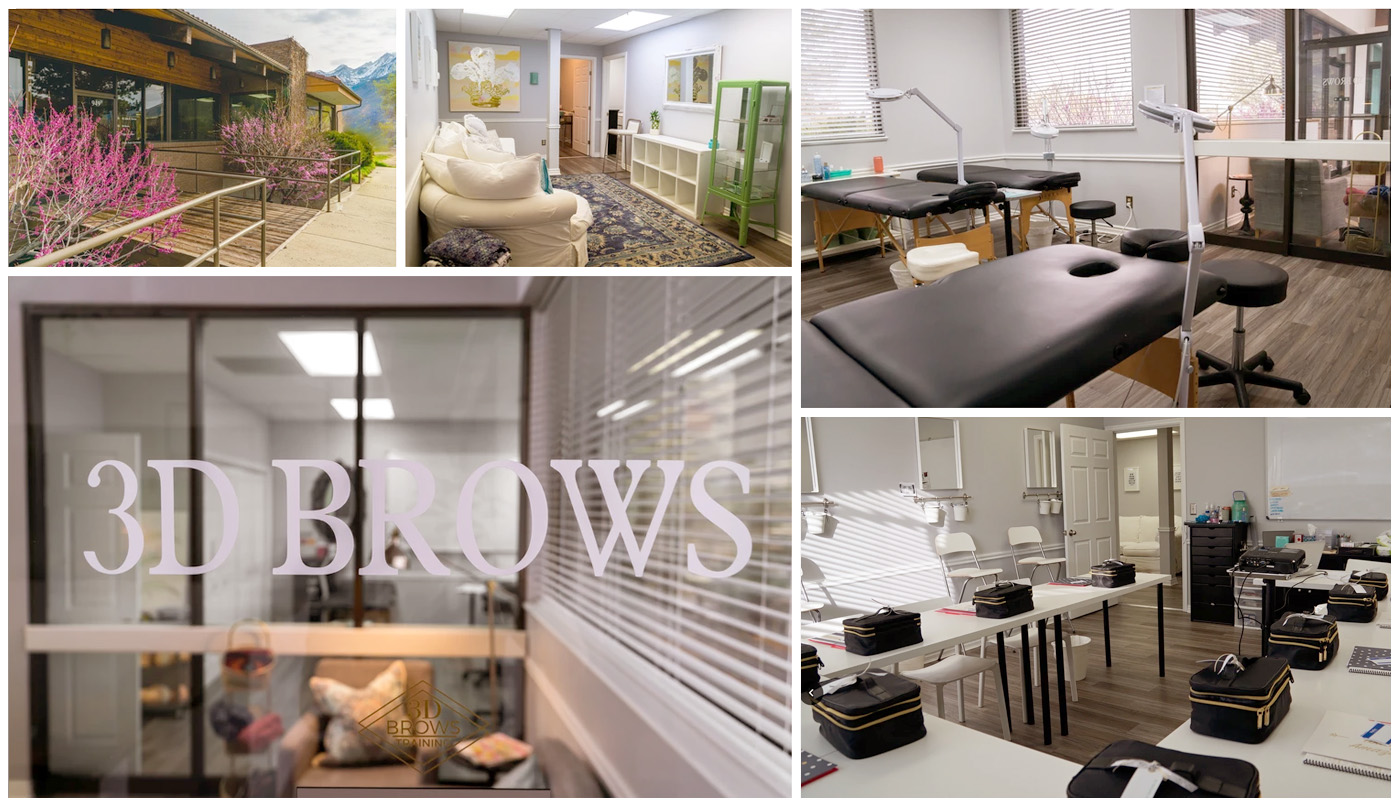 3D BROWS ACADEMY Microblading Training Course Facility in Murray, Utah