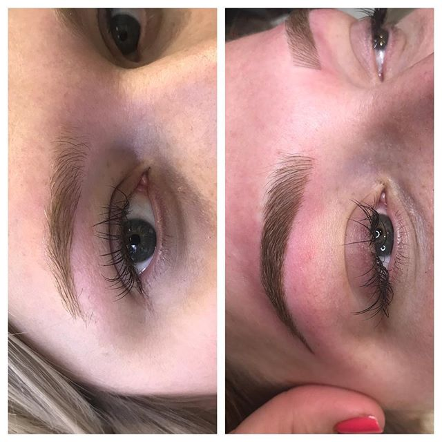 3d Brows Before and After - 3D BROWS ACADEMY, Utah