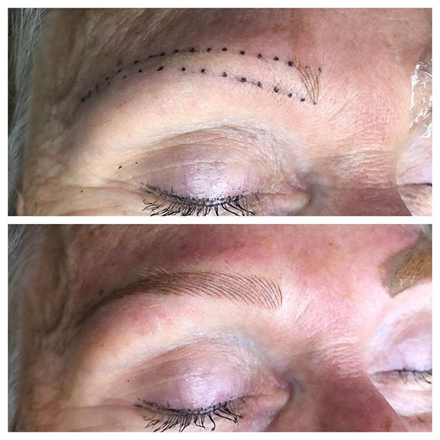 Brow Mapping and Shaping - 3D BROWS ACADEMY, Utah