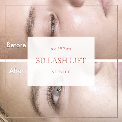 3D Lash Lift Service - 3D BROWS ACADEMY, Utah