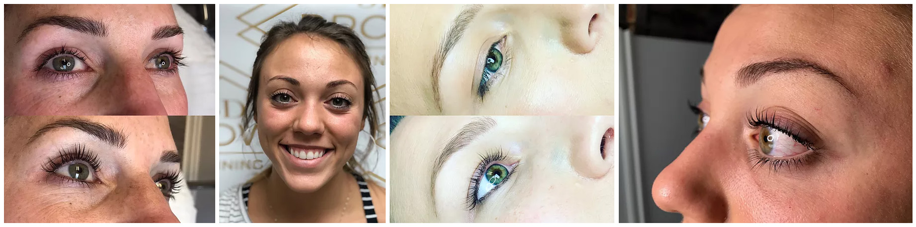 3D Lash Lift Before and After - 3D BROWS ACADEMY, Utah
