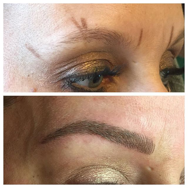 Brow Mapping - 3D BROWS ACADEMY, Utah