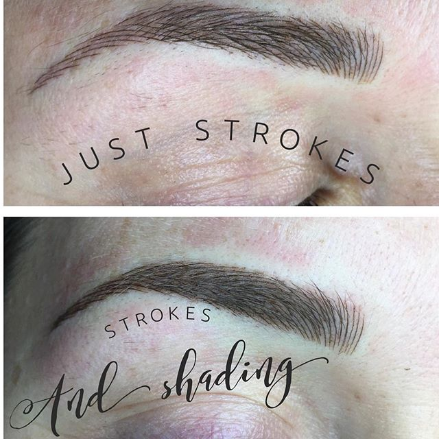 Microblading Hair Strokes and Shading - 3D BROWS ACADEMY, Utah