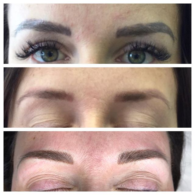 Microblading Shading and Undertones - 3D BROWS ACADEMY, Utah
