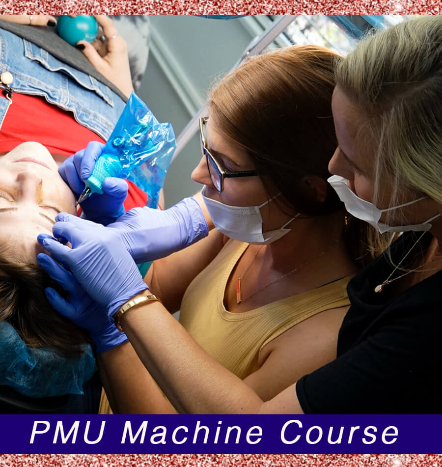 Permanent Makeup Machine Course Training from 3D Brows Academy
